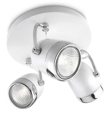 Philips 56483/31/16 Balsa Beyaz 3X35W Spot Avize Armatür Beyaz